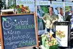 Felix Neumann von Grünland präsentierte das Projekt auf dem AltmarkMacherFestival (Foto: Björn Gäde)