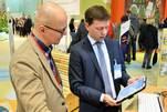 Hagen Woecht präsentierte das Patientenportal u.a. auch auf der Grünen Woche 2017 (Foto: Björn Gäde)